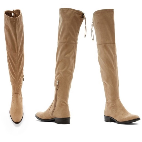 03b666ad42d6ed NEW Sam Edelman Paloma Oatmeal Over-the-Knee Boots